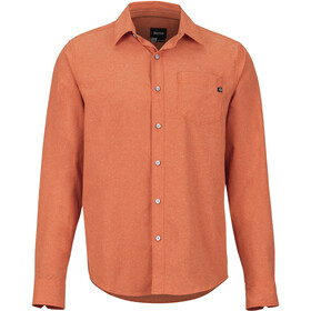 Marmot Aerobora longsleeve Heren, orange haze